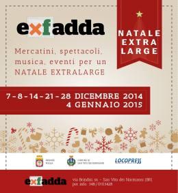 ExFadda Christmas Poster