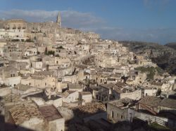 View of the old town of Sassi
