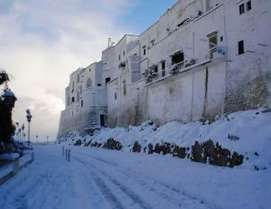 The White City of Ostuni, even whiter than normal!