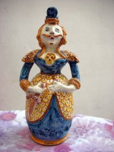 Grottaglie ceramic - Bearded Brides