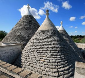 Conical roofs