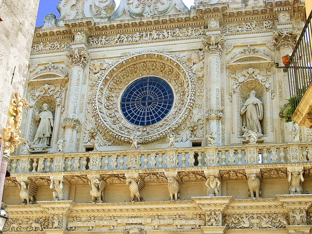 Lecce Italy  city pictures gallery : Basilica Santa Croce – Lecce – Italy
