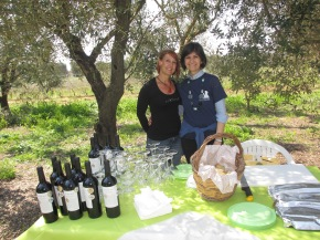 Wine tasting in the Puglian Countryside