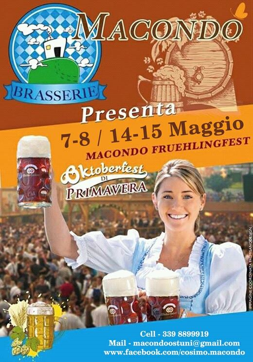 Macondo Oktoberfest May 2015