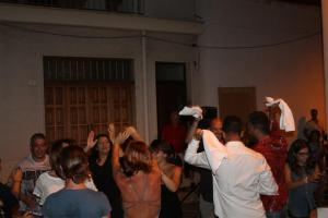 Pizzica dancing