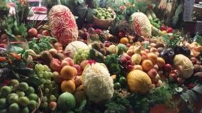 Fresh seasonal fruit and vegetables