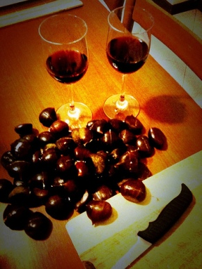 Chestnuts and Wine