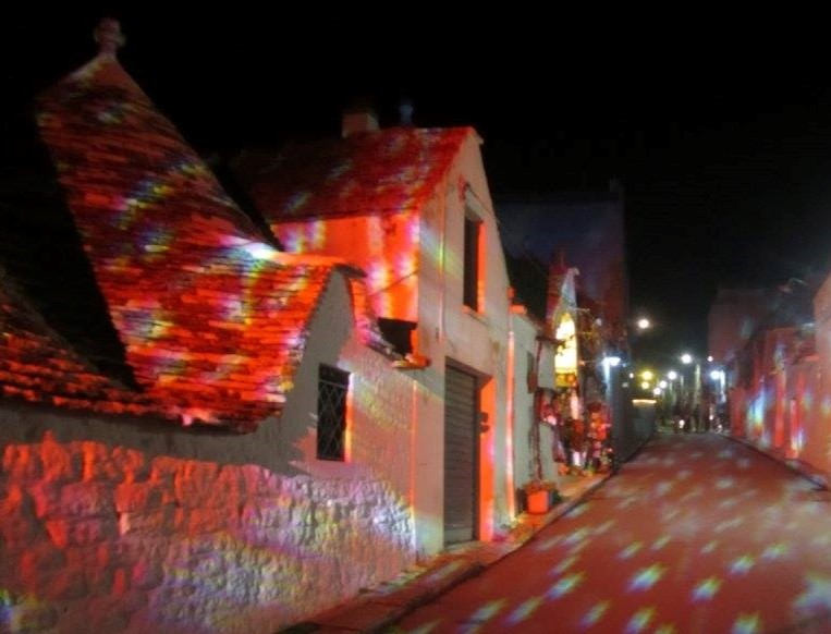Alberobello in Festive Lights