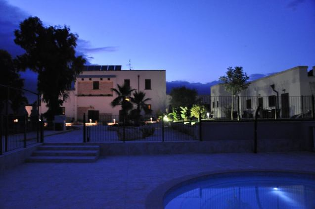 Masseria Giulio at dusk