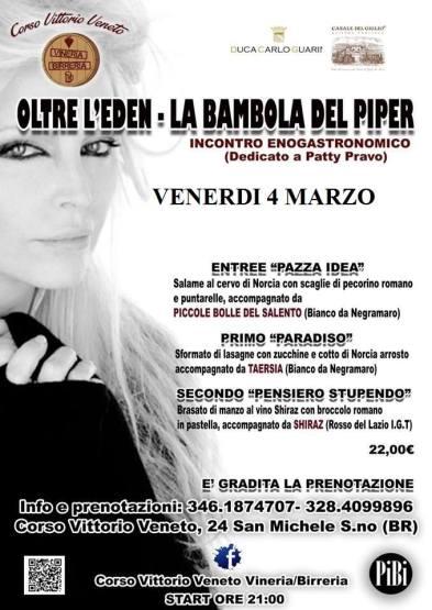 Enogastronomic Event. Corso Vittorio Veneto. San Michele Salentino