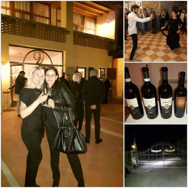 Private party at Le Valleselle