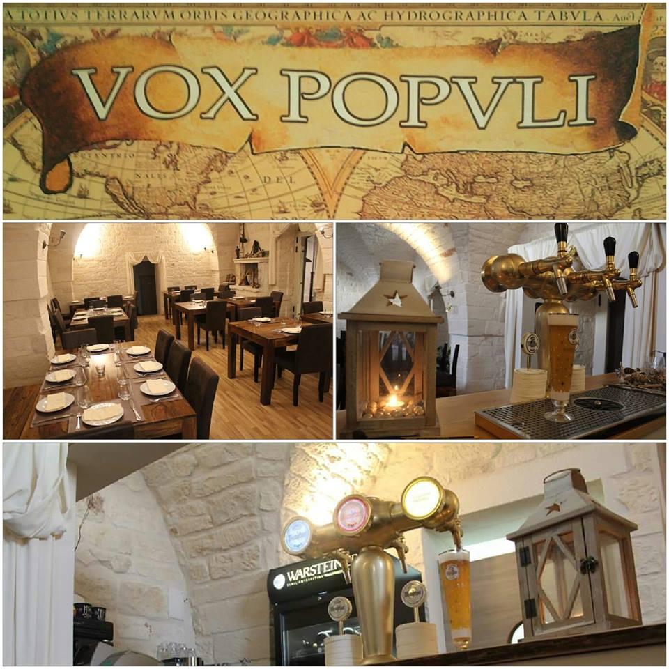 Vox Popvli Restuarant Puglia