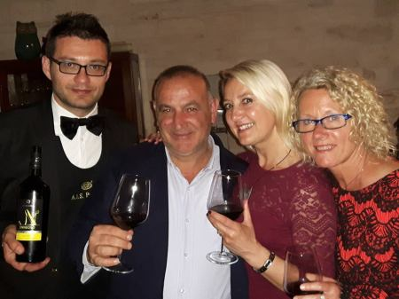 Rosso Velluto Food and Wine Event at Vox Popvli Restaurant, Puglia