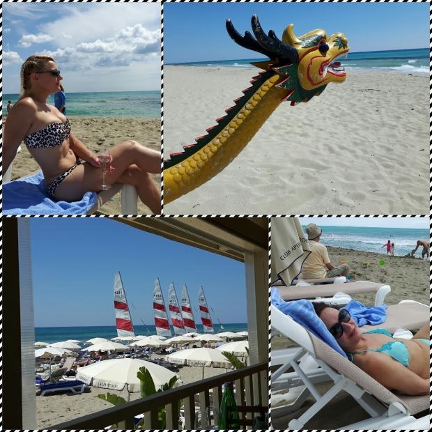 Beach life (in bikinis)