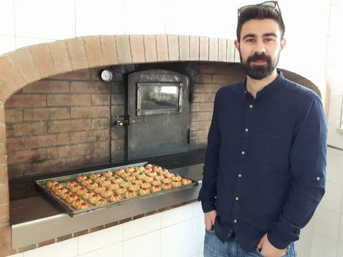 My host Federico!