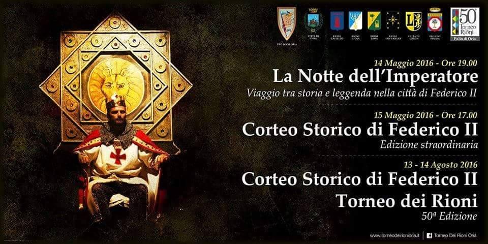 Oria Events: Federico II Torneo dei Rioni May 2016