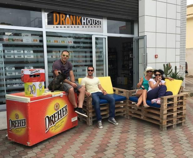 Drink House and Ice Boy Bar