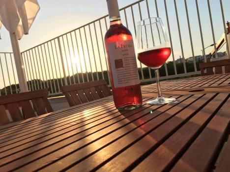 La Pruina at Sundown