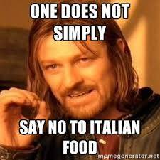 Italians and their love of food