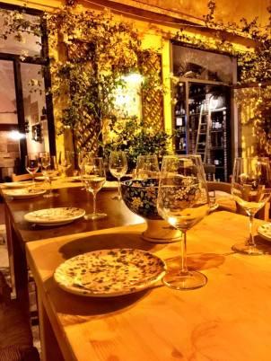 Ready for dinner at Giudamino