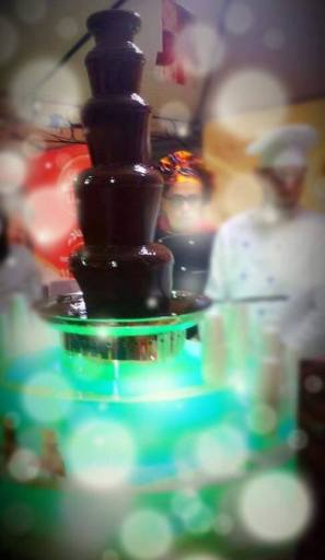 Lindt Chocolate Fountain.......Heaven!