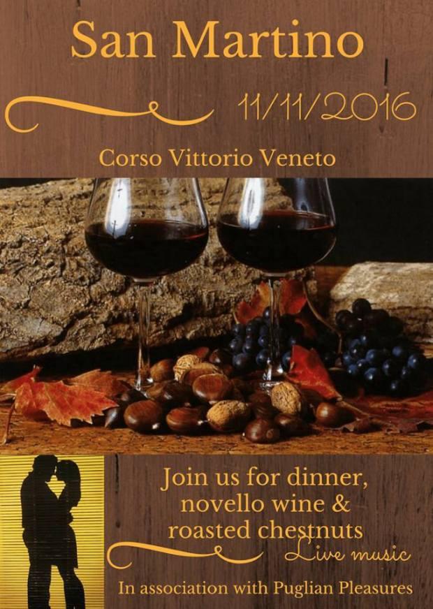 San Martino: Corso Vittorio Veneto with Puglian Pleasures