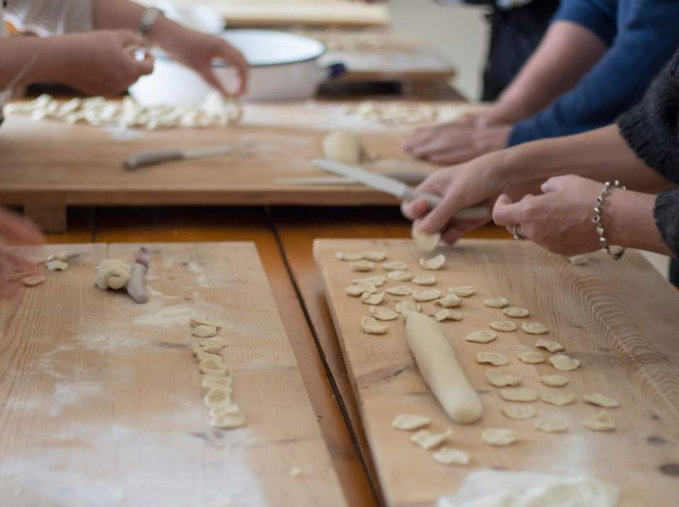 Group Pasta Making