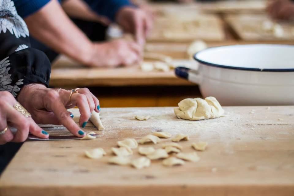 Pasta Making with Mamma