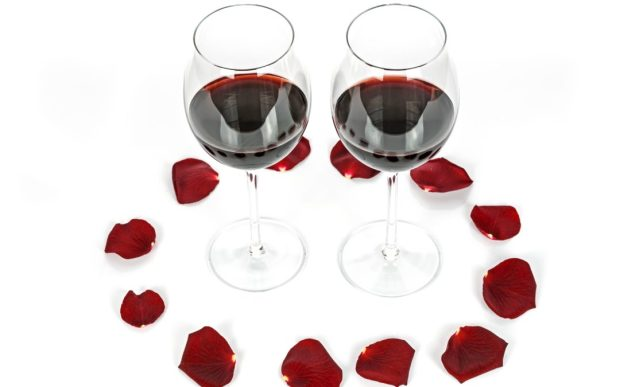Love and Wine on Valentines